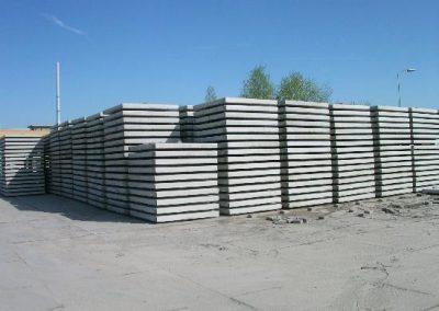 Industrieplaat 200x200x014, zonder hoeklijn, 15 ton aslast, enkel net