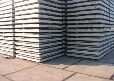Stelcon® N-plaat 200x200x016 met hoeklijn